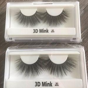 Faux mink 3D eyelashes